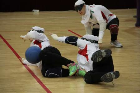 Iran Goalball Team Finishes Third in Asian Cup