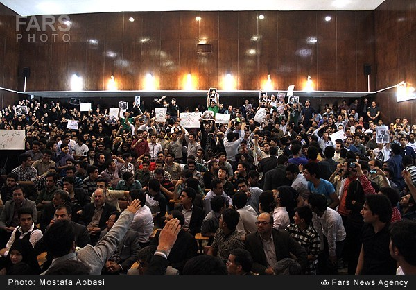 Mohammad Reza Aref Takes His Campaign to Mashhad