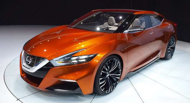 The 2015 Nissan Maxima is a Four-Door Sports Coupe, Release Date Yet To Be Finalized!