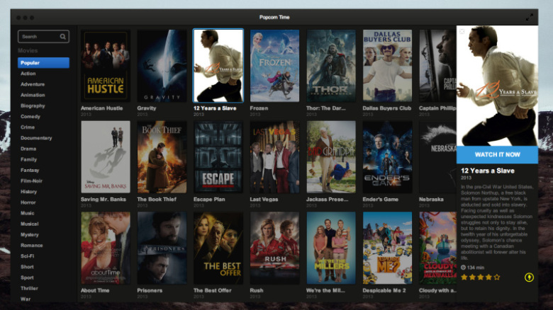 Popcorn Time Finds Safe Haven in Sweden, Promises Never to Go Out of Service!