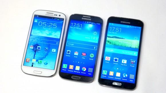 Samsung Galaxy Avant vs Samsung Galaxy S4 vs Samsung Galaxy S5