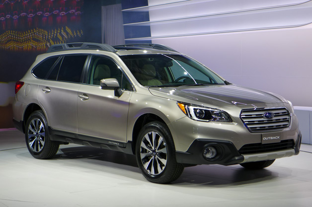 Safety Testing the 2015 Subaru Outback on Road: First Report!