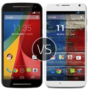 Motorola Moto G2 vs Motorola Moto X2