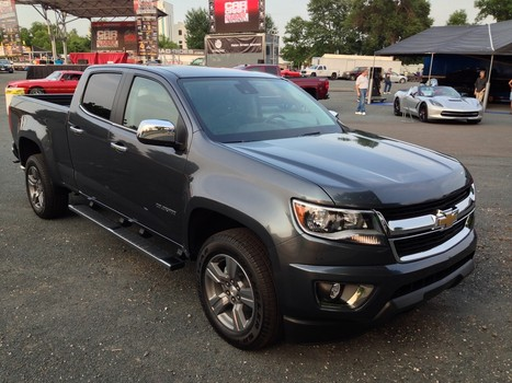 Motor Trend Truck Of The Year Goes To 2015 Chevy Colorado!