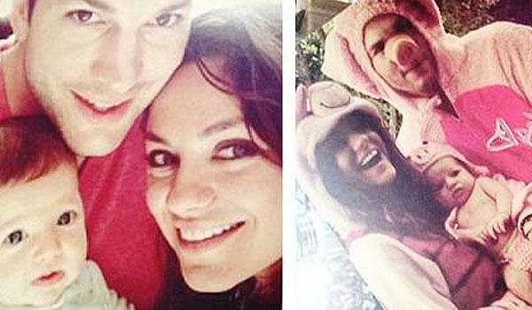 Mila Kunis baby born