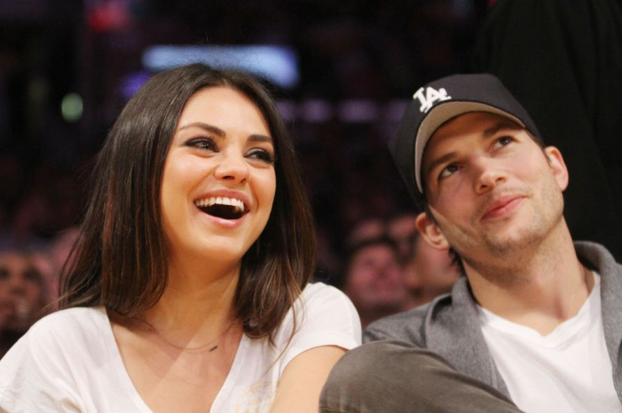 mila kunis slams divorce rumors between husband ashton kutcher