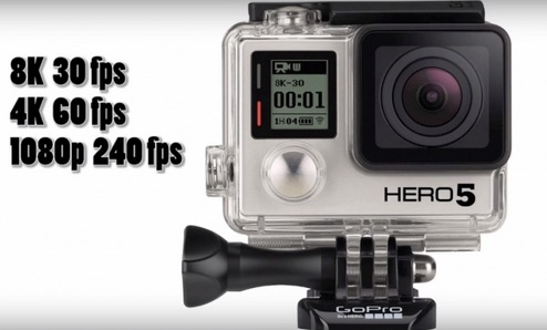 GoPro Hero 5 to Feature Superior Hardware as well as Smartphone and Cloud-Connected Storage