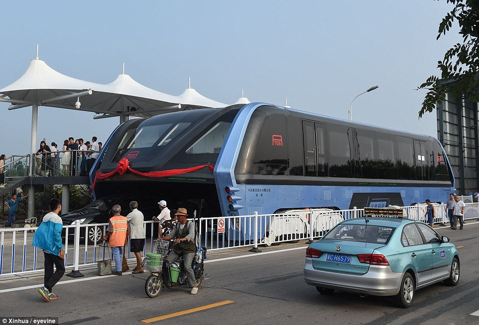 China Abandons Transit Elevated Bus Amid Heavy Criticisms and Safety Concerns by the Chinese Public, More Details