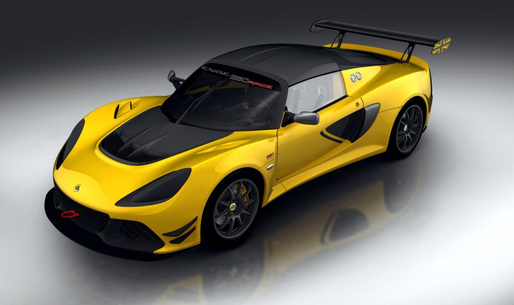 Lotus Exige Race 380 Expected to Become the Class-Leading Competition Sports Car When It Comes Out in May!