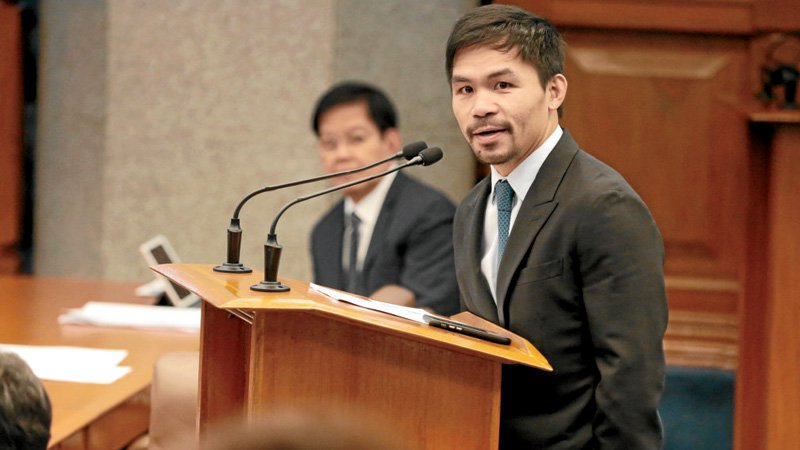 Manny Pacquiao Supporting Death Penalty Imposition for Drug Crimes Goes Against True Christian Values, Critics Say!