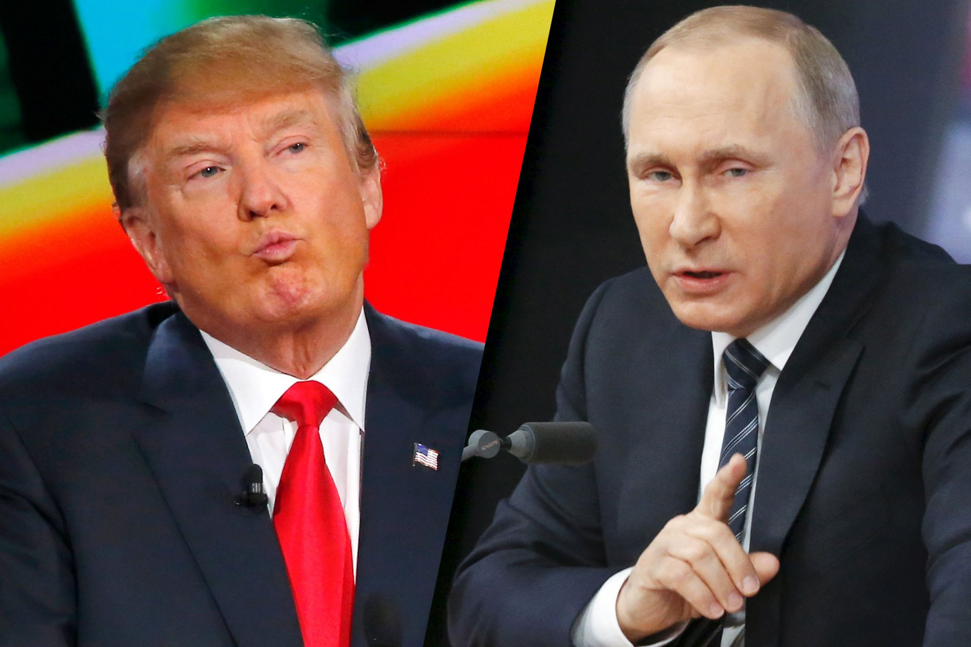 Donald Trump and Vladimir Putin Share Characteristics of Being Short-Tempered, Thin-Skinned, Not Very Bright, and Not Listening to Advisers, Says Book Author