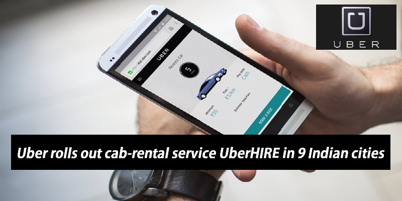 UberHire Allows Passengers to Hire an Uber for a Block Time Up to a Maximum of 12 Hours Instead of a Single Ride!