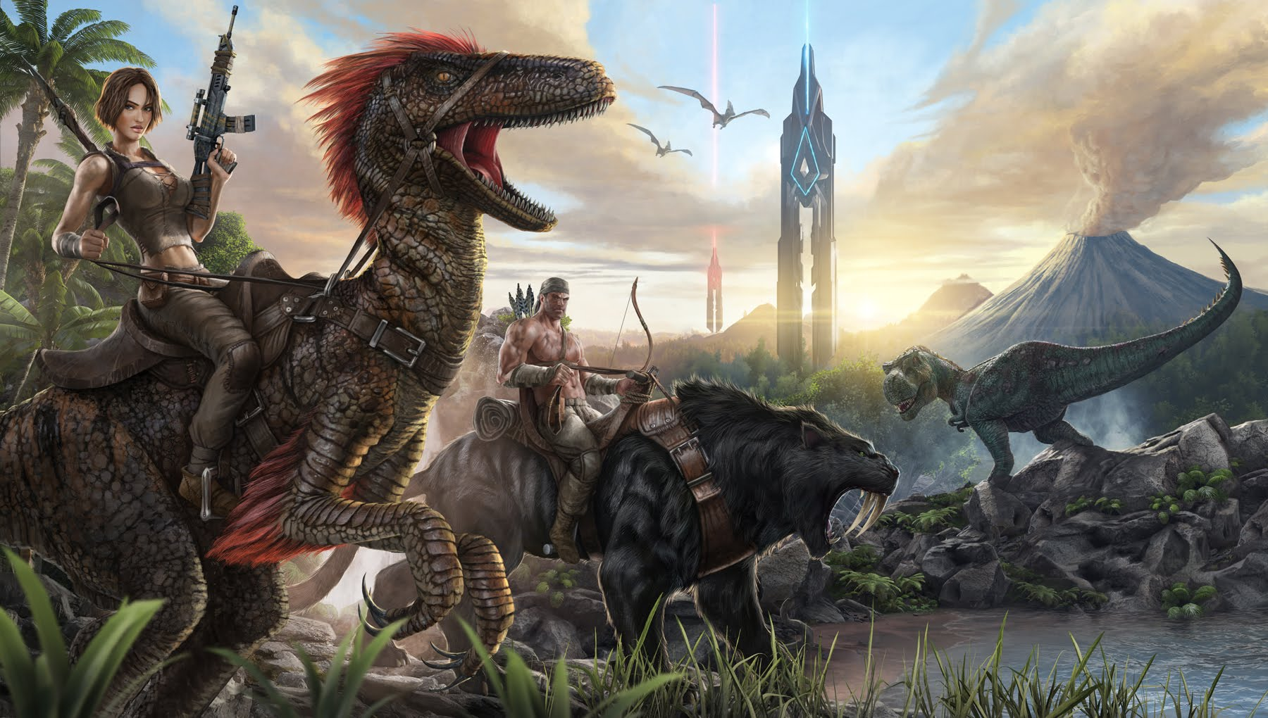 'Ark: Survival Evolved' v254 Update and New Contents to Come to the PS4 and the Xbox One on Valentine's Day!