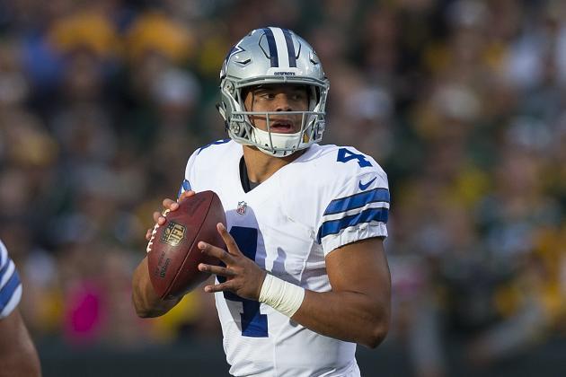 Dak Prescott Offers to Split the Offensive Rookie of the Year Award with Dallas Cowboys Teammate Ezekiel Elliott!