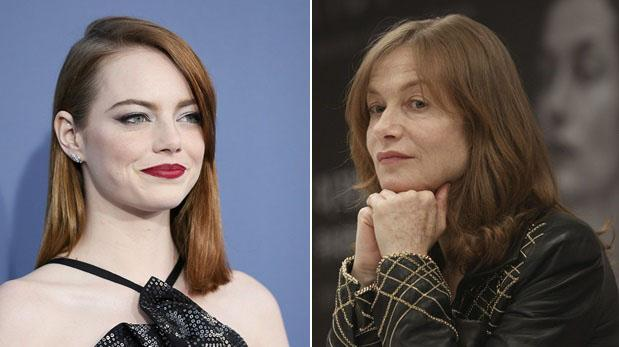 Emma Stone and Isabelle Huppert Neck-and-Neck in the Oscars Race for Best Actress This Year, Say Critics!