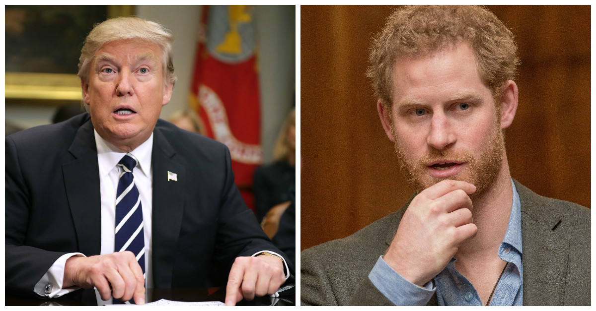 Prince Harry's Dislike of Donald Trump Likely to Lead to Awkward Moments When the Two Meet in the Future!