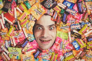 candy fights cavity
