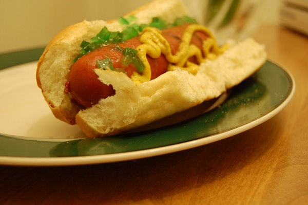 Calories in a Hot Dog