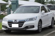 Honda brings to light the new Accord Hybrid 2018, looks like it's the best it's ever been