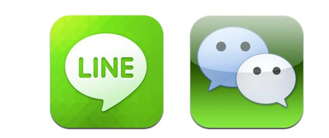 WeChat vs Viber vs Line