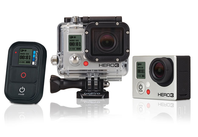 GoPro Hero 4 vs GoPro Hero 3