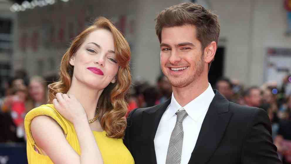 Andrew Garfield with charming, kind, Girlfriend