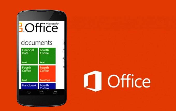 Microsoft Office Arrives On Android Mobile Devices With 7