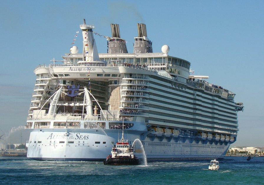 harmony of the seas to be e the world s largest cruise