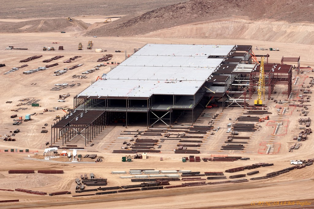 Tesla Motors Expects to Employ 6,500 Workers for Gigafactory