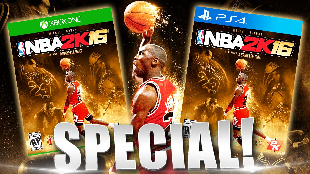 Nba 2k16 Special Edition To Feature Return Of His Airness Michael