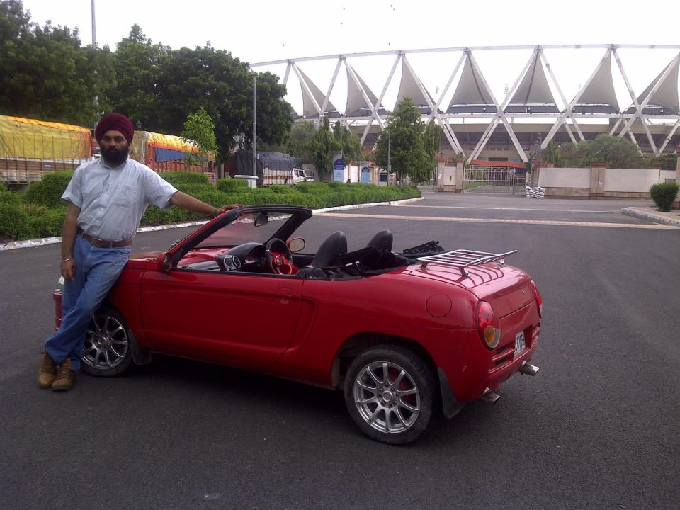 Jagjit Singh Transforms The Maruti 800 Into A Fancy Convertible