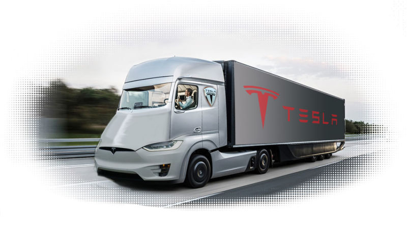 Tesla All Electric Semi Truck To Deliver Substantial