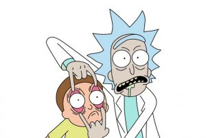 Jerrys Adventure Rick and Morty